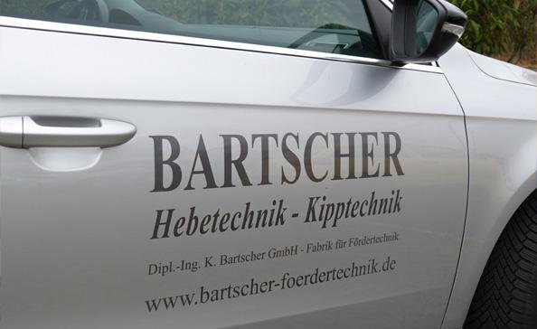 Service Fahrzeug der Bartscher GmbH
