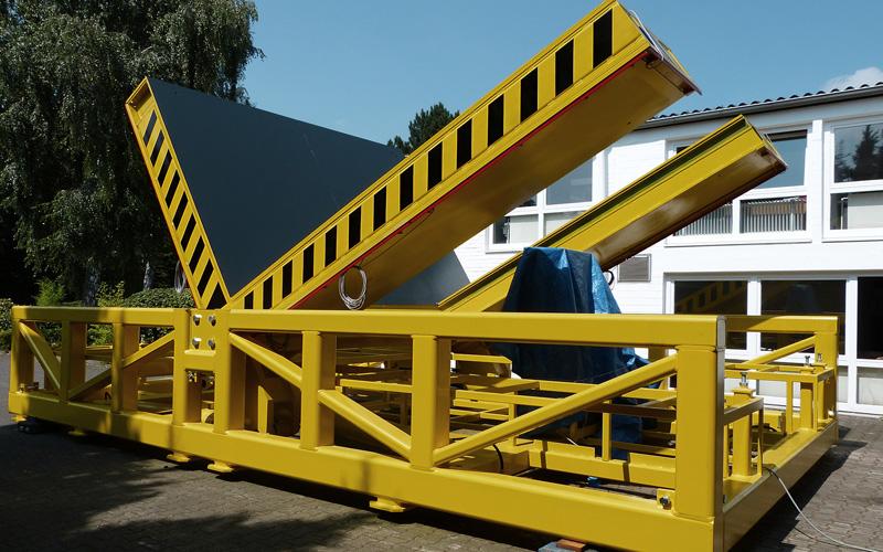 Wendemaschine für ca. 20 Tonnen