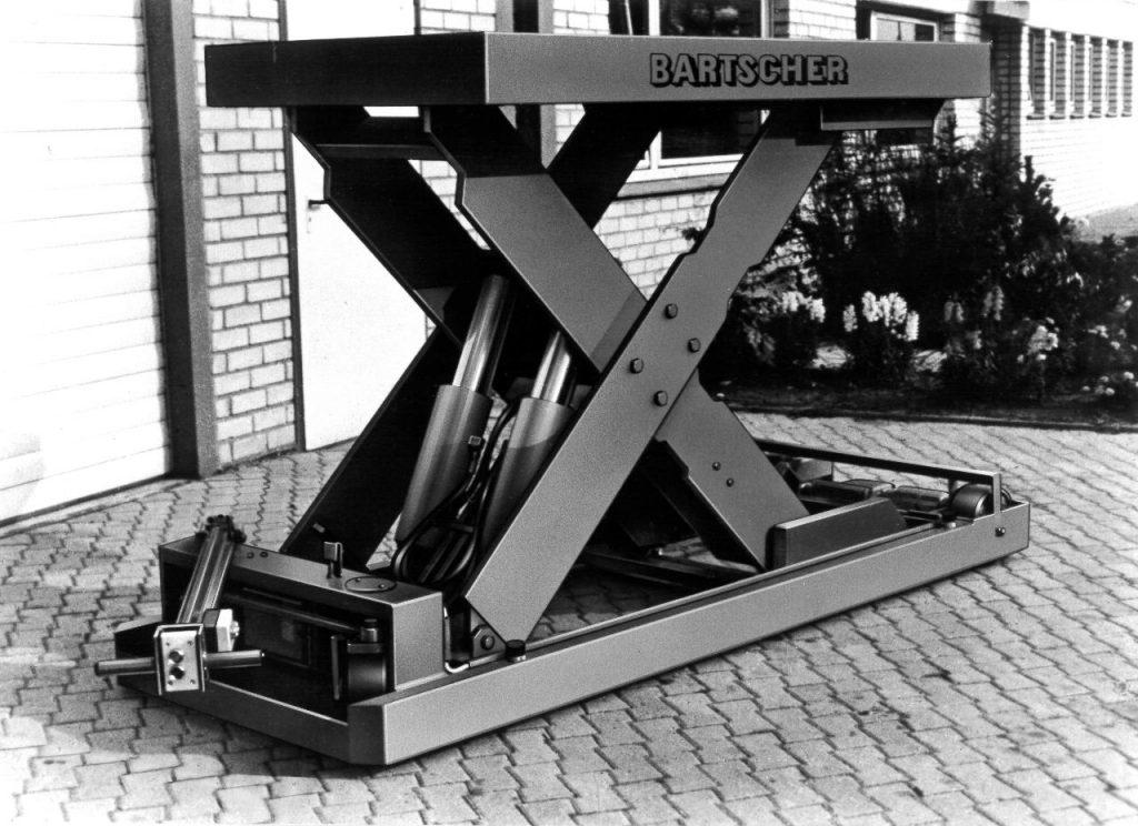 Hubtisch verfahrbar (Tragfähigkeit 4000kg)