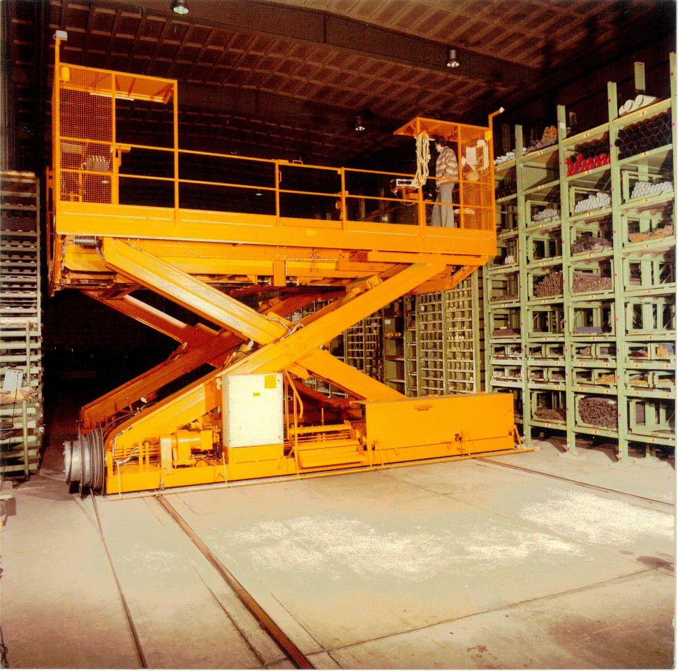 Regalbediengerät verfahrbar (Tragf. 6000kg)
